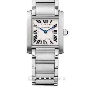 Cartier watch - Tank Francaise women steel